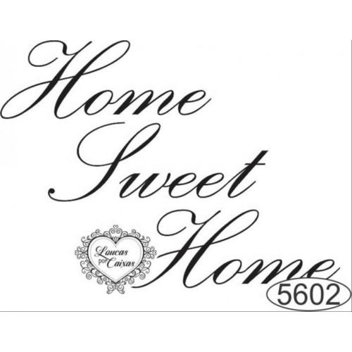 Carimbo Home Sweet Home Ref. 5602 - 6 X 4 Cm