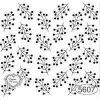 Carimbo Fundo Galhinhos Ref. 5607 - 6 X ..