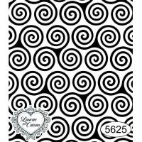 Carimbo Estampa Espiral - 6X7Cm - Ref 56..