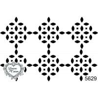 Carimbo Fundo Geométrico - 9X6Cm - Ref. ..