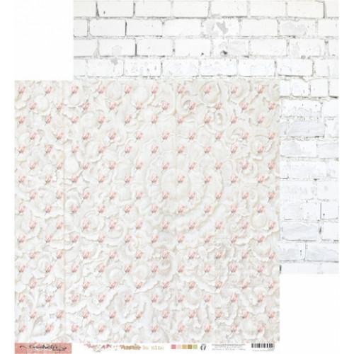 Papel Scrap Coleção Aways 07 - Dupla Face 30,5x30,5 - 180g