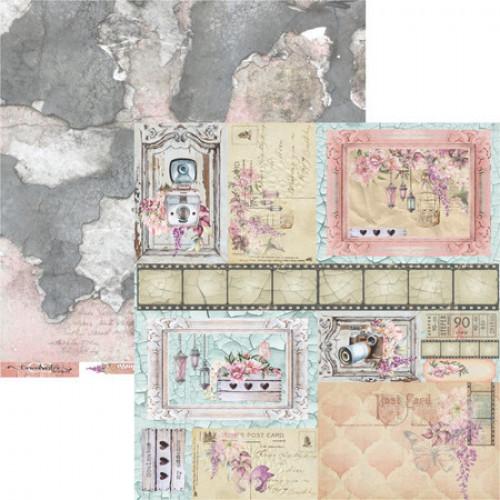 Papel Scrap Coleção Essence of Life 07 - Dupla Face 30,5x30,5 - 180g