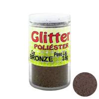 Glitter Poliéster Gliart 3,5g - Bronze..