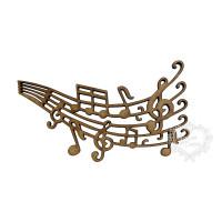 Pauta Musical Tamanho M - 2 Unid..