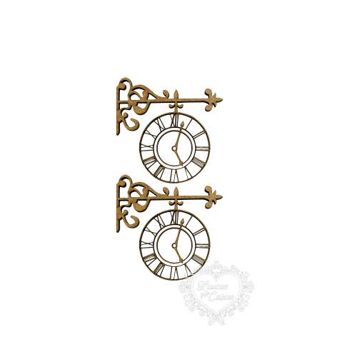 Relógio Antigo P - 2 Unid