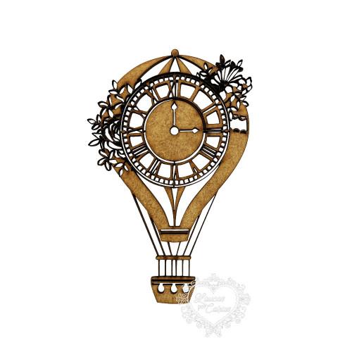 Balão Com Relógio - M
