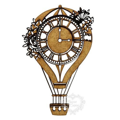 Balão Com Relógio - G
