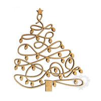 Árvore Natal Com Luzinhas - M..