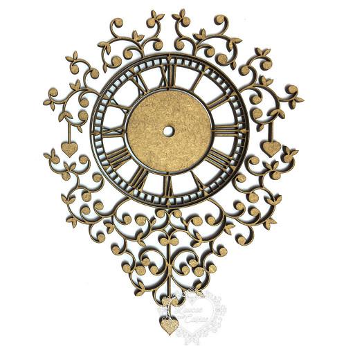 Relógio De Parede Rendado - XG