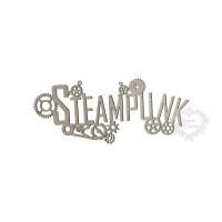 Aplique Palavra Steampunk - P - Em Chipb..