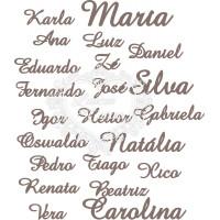Nome / Palavra Personalizada - Fonte Ama..