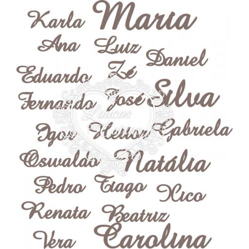Nome / Palavra Personalizada - Fonte Amaze - 1 Unid. - XXG