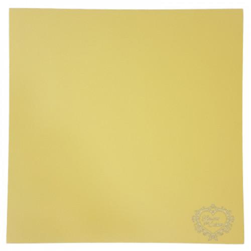 Papel Candy Plus Abacaxi - Amarelo 180g - tam. 30,5 X 30,5 cm