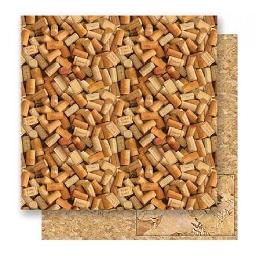 papel dupla face 180 g  rolhas- 30.5 x 30.5