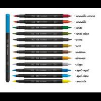 Marcador Dual Brush - CIS - Amarela..
