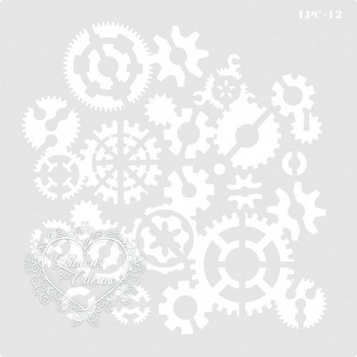 Stencil Engrenagens - 21x21 - Ref. 12