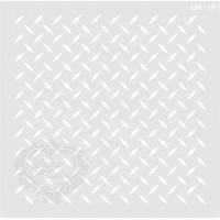 Stencil Fundo Metal - 22x22,5cm - Ref. 1..