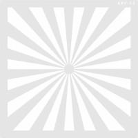 Stencil Flash - 25x25cm - Ref. 23..