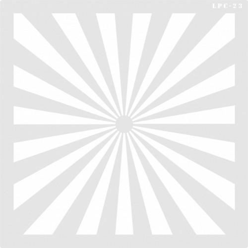 Stencil Flash - 25x25cm - Ref. 23