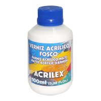 VERNIZ ACRIL.FOSCO - PET/100ML..