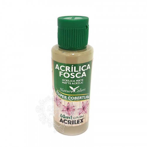Tinta acrílica fosca 60ml Nature Colors - Concreto