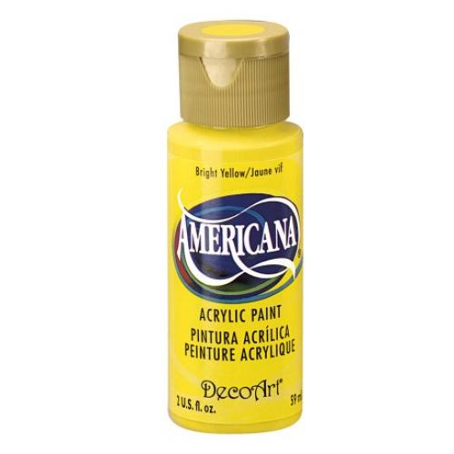 Tinta Decoart Americana Bright Yellow