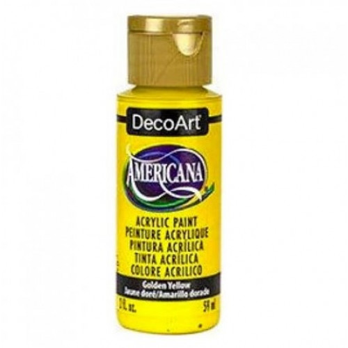 Tinta Decoart Americana Golden Yellow