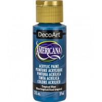 Tinta Decoart Americana Tropical Blue..