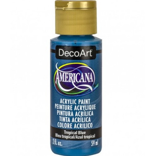 Tinta Decoart Americana Tropical Blue