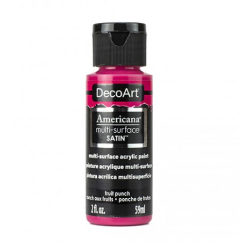 Tinta Decoart Americana Multi-Surface Fruit Punch