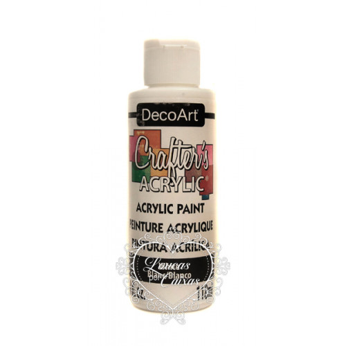 Tinta Decoart Crafters White - 118ml