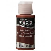 Tinta Decoart Media Fluid Burnt Siena..