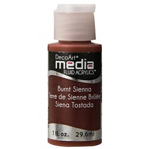 Tinta Decoart Media Fluid Burnt Siena