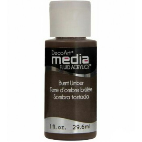 Tinta Decoart Media Fluid Burnt Umber