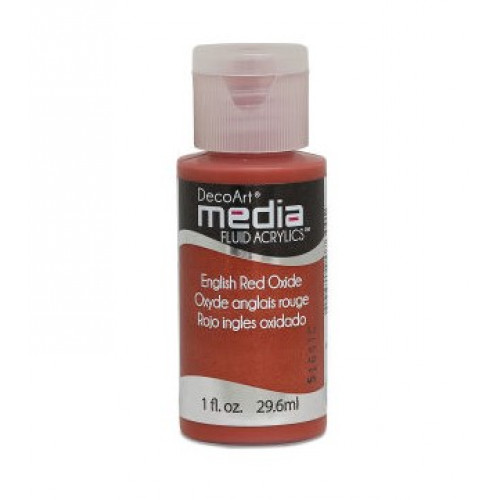 Tinta Decoart Media Fluid Red Oxide