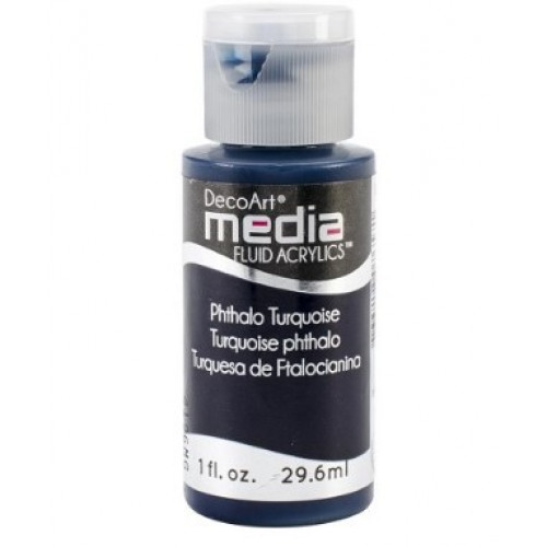 Tinta Decoart Media Fluid Phthalo Turquoise