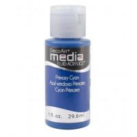 Tinta Decoart Media Fluid Prymary Cian..