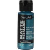 Tinta Decoart Matte Metallics - Turquois..