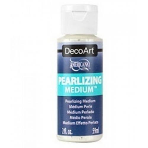 Auxiliar de Efeito Perolado - Pearlizing Medium Decoart - 59 ml