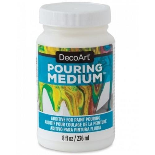 Aditivo para Pintura Fluida Decoart pouring medium - 236 ml