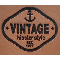 Molde de EVA Placa Relevo - Vintage..