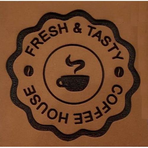 Molde de EVA Placa Relevo - Fresh e Tasty