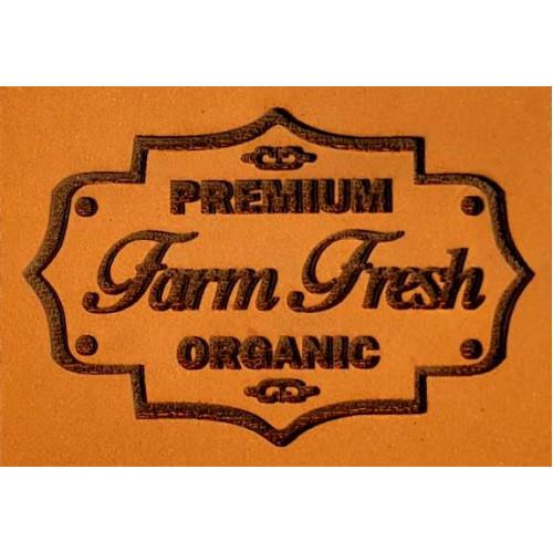 Molde de EVA Placa Relevo - Premium Farm Fresh
