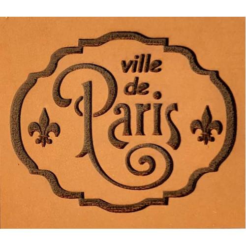 Molde de EVA Placa Relevo - Ville de Paris
