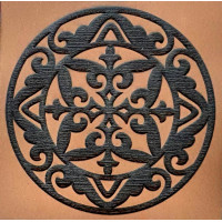 Molde E.V.A. Placa Relevo - Mandala..