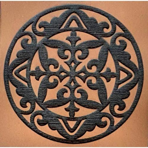 Molde E.V.A. Placa Relevo - Mandala