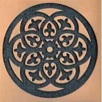 Molde de EVA Placa Relevo - Mandala 2..