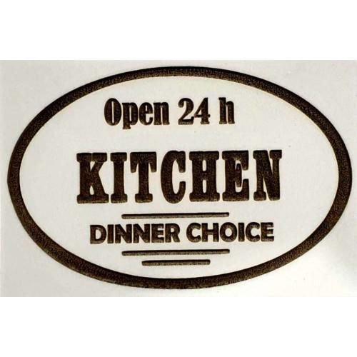 Molde de EVA Placa Relevo - Open 24h Kitchen