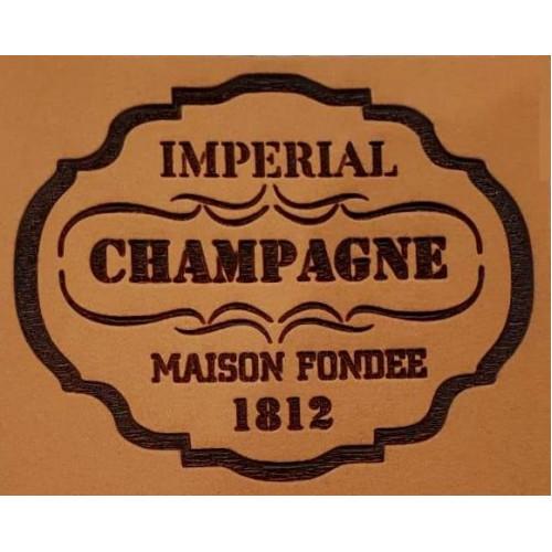 Molde de EVA Placa Relevo - Imperial Champagne