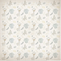 Papel 180g It's a Baby 6 - Dupla face 30..